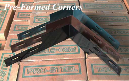 Pro Steel Pre-formed Corners